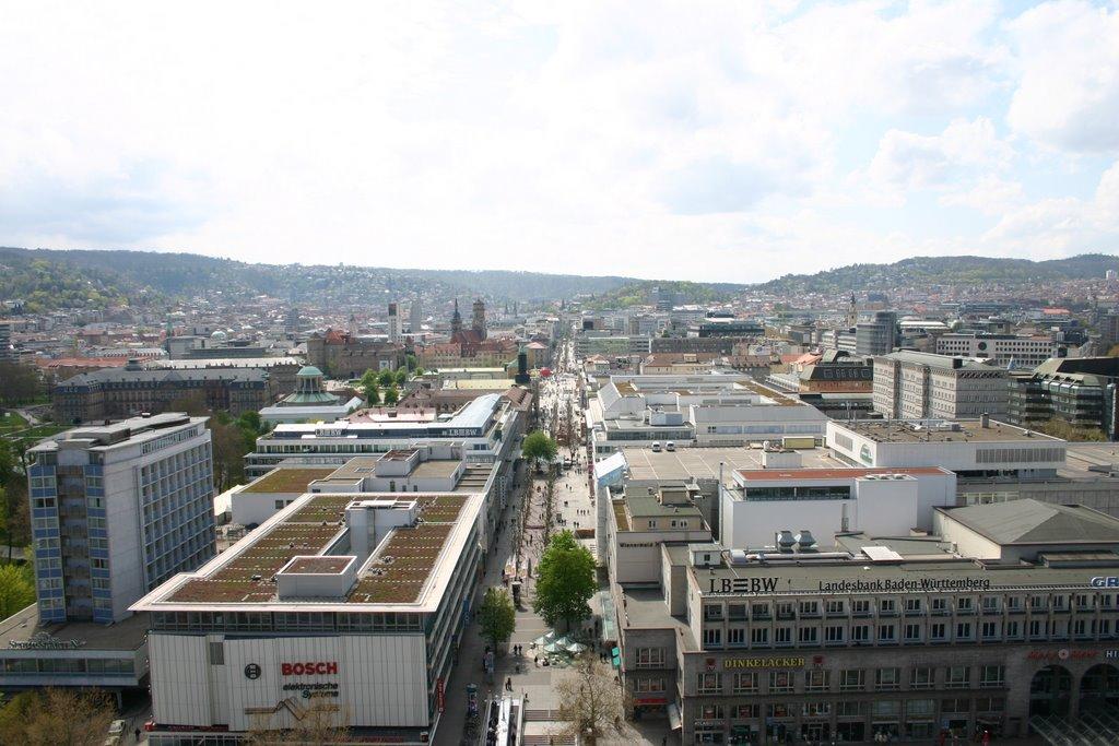 Königstraße Stuttgart, Штутгарт