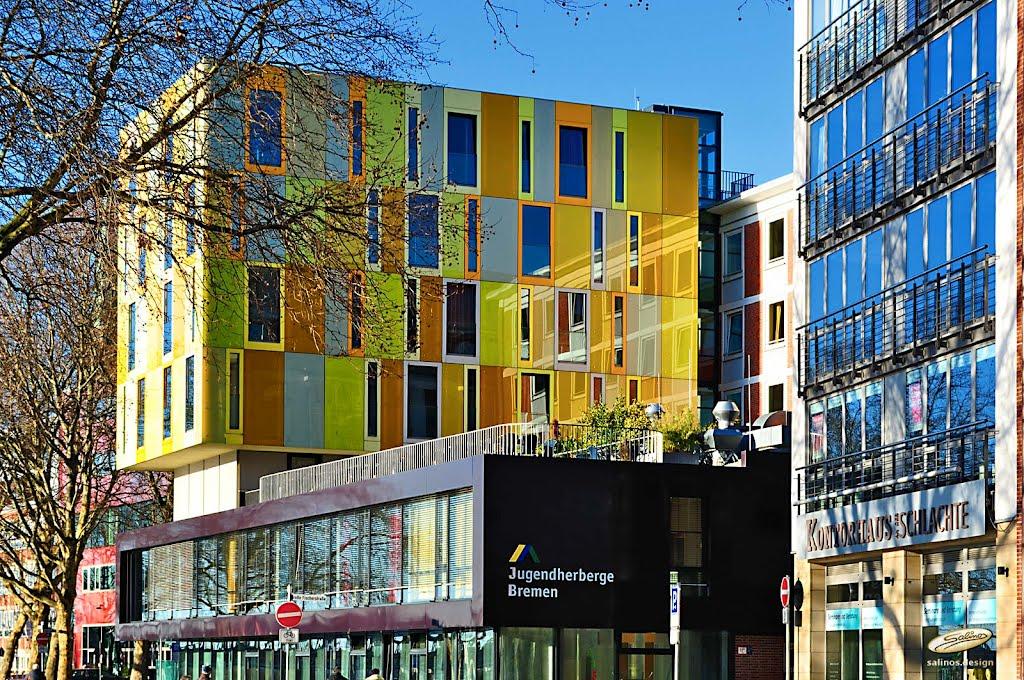 Jugendherberge Bremen - Schlachte - (C) by Salinos_de HB, Бремен