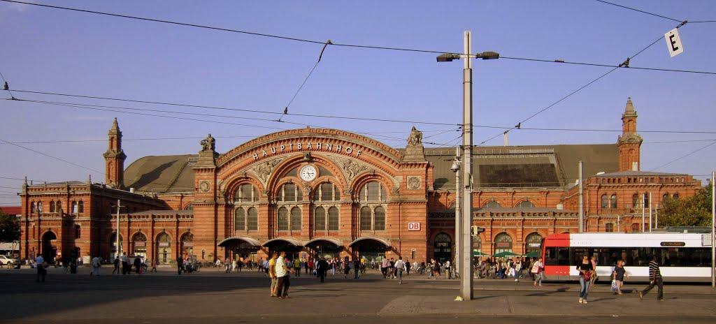 Hauptbahnhof Bremen / Bremen central station, Бремен