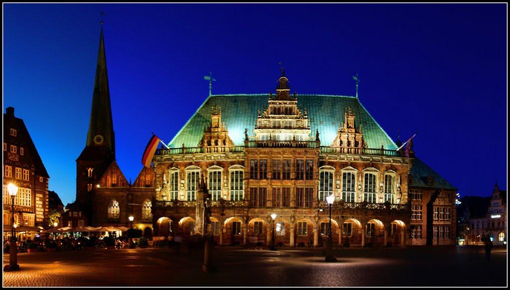 Bremer Rathaus und umzu, Бремен