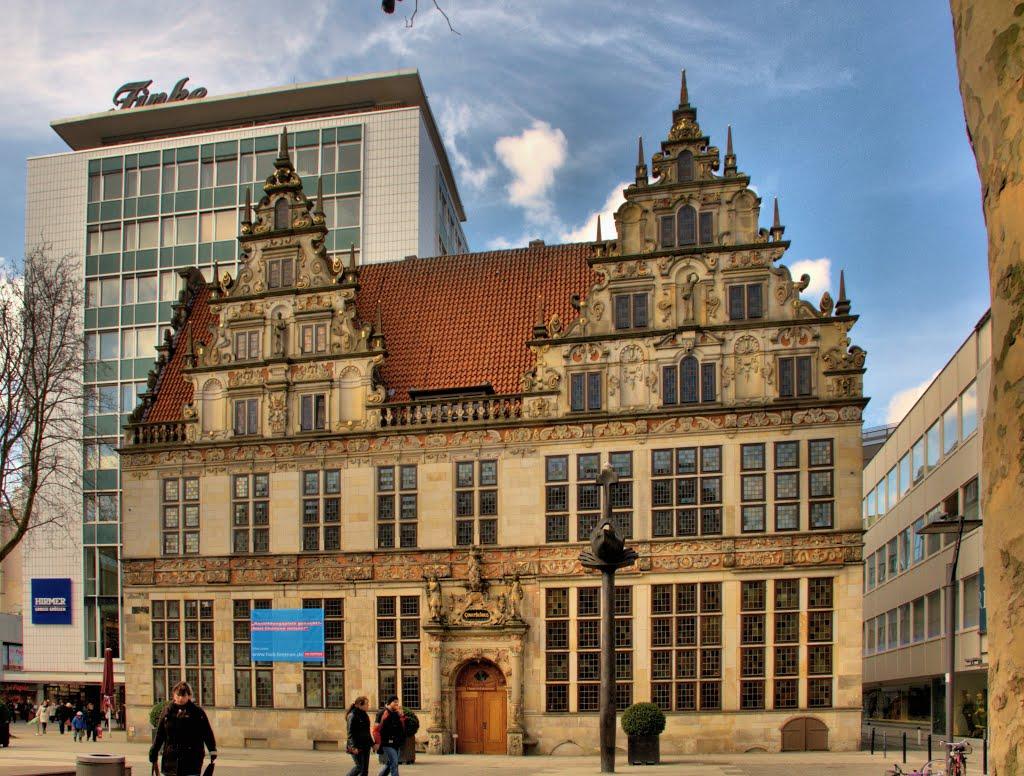 Gewerbehaus, Handwerkskammer, Bremen, Бремен