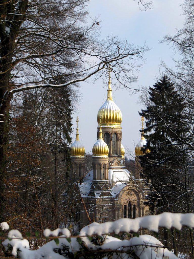 Russisch-orthodoxe Kirche (Griechische Kapelle), Висбаден