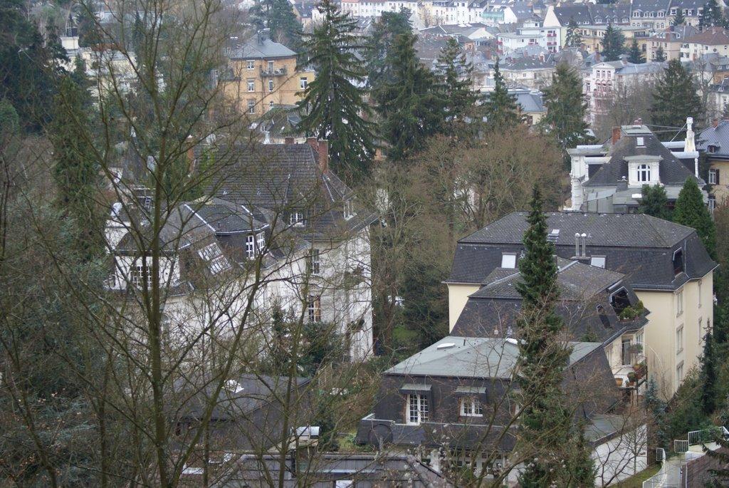 Wiesbaden, Neroberg villas, Висбаден