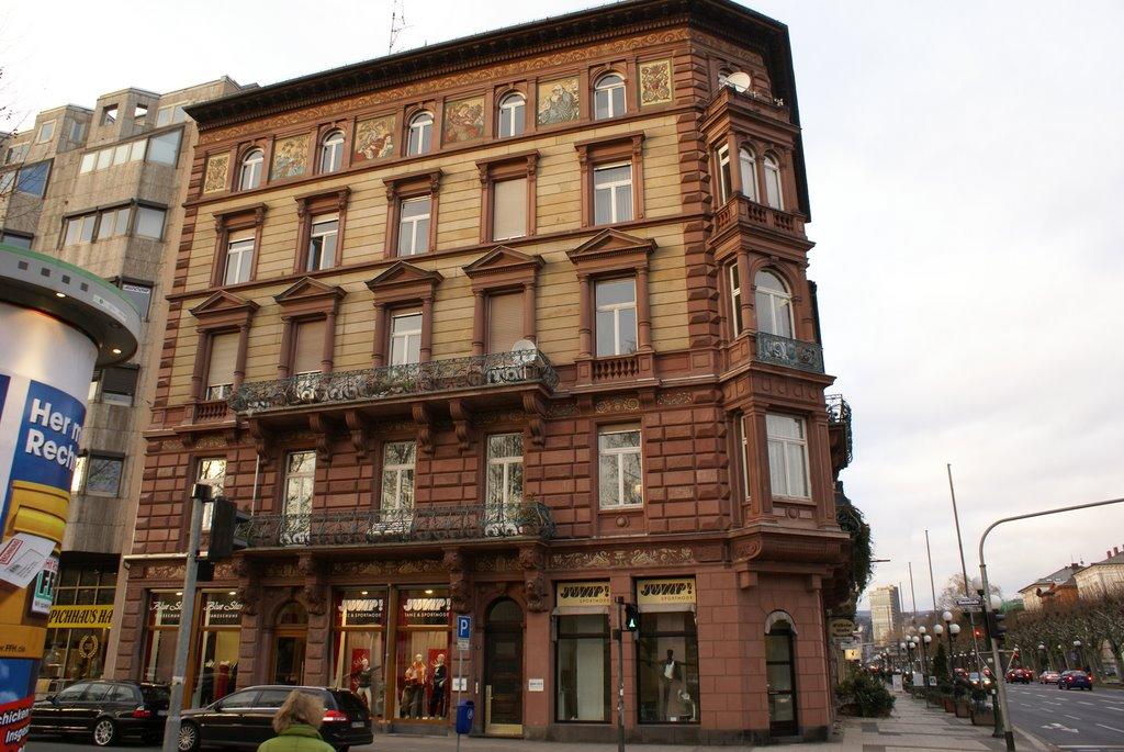 Wiesbaden, Ecke Rheinstrasse-Wilhelmstrasse, Висбаден