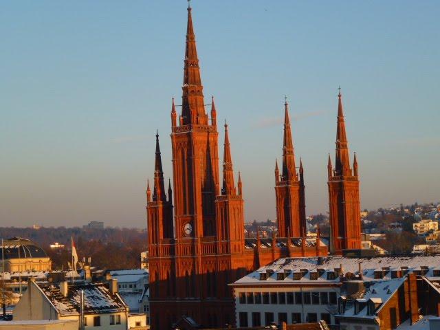 Wiesbaden 2012: Marktkirche, Висбаден