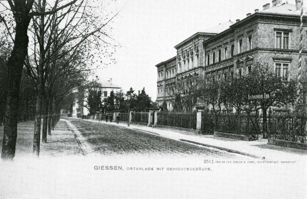 Ostanlage Gerichtsgebäude, Гиссен