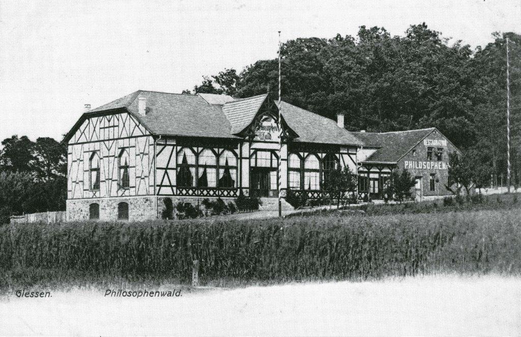 Restaurant Philosophenwald ca. 1920, Гиссен