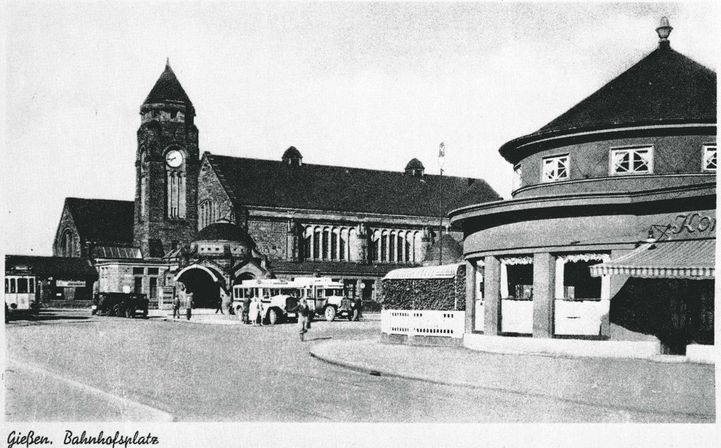 Bahnhof ca. 1940 !, Гиссен