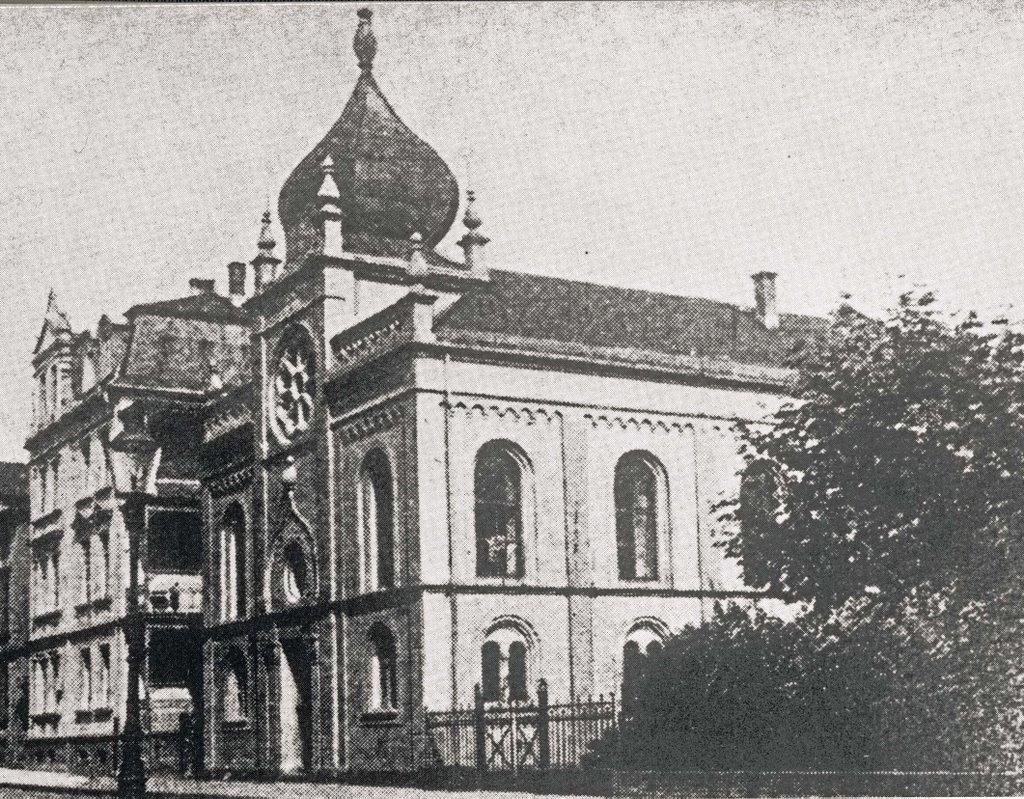 Orthodoxe Synagoge Steinstrasse !, Гиссен