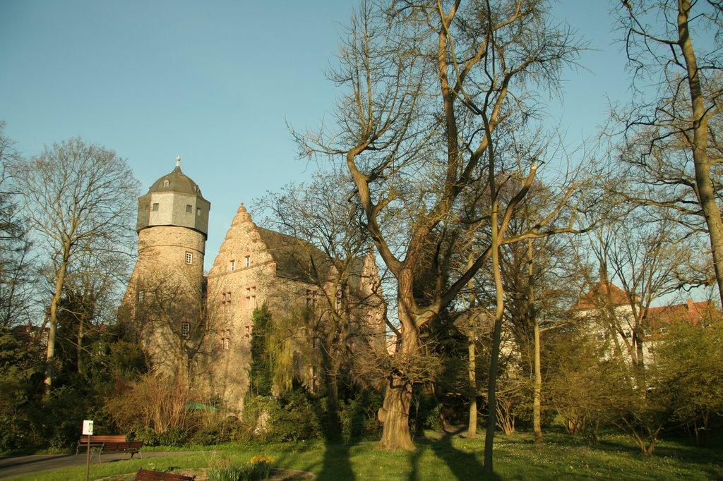 Altes Schloss / Blick v. Bot. Garten !, Гиссен