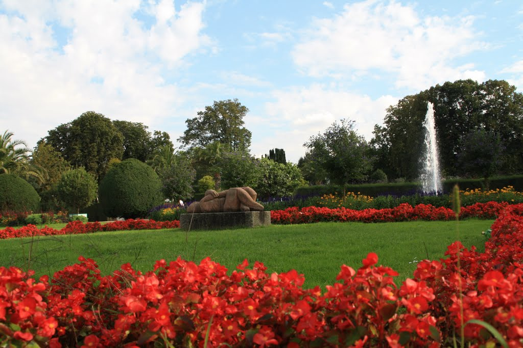 """Darmstadt """"Orangerie Garten """", Дармштадт"""