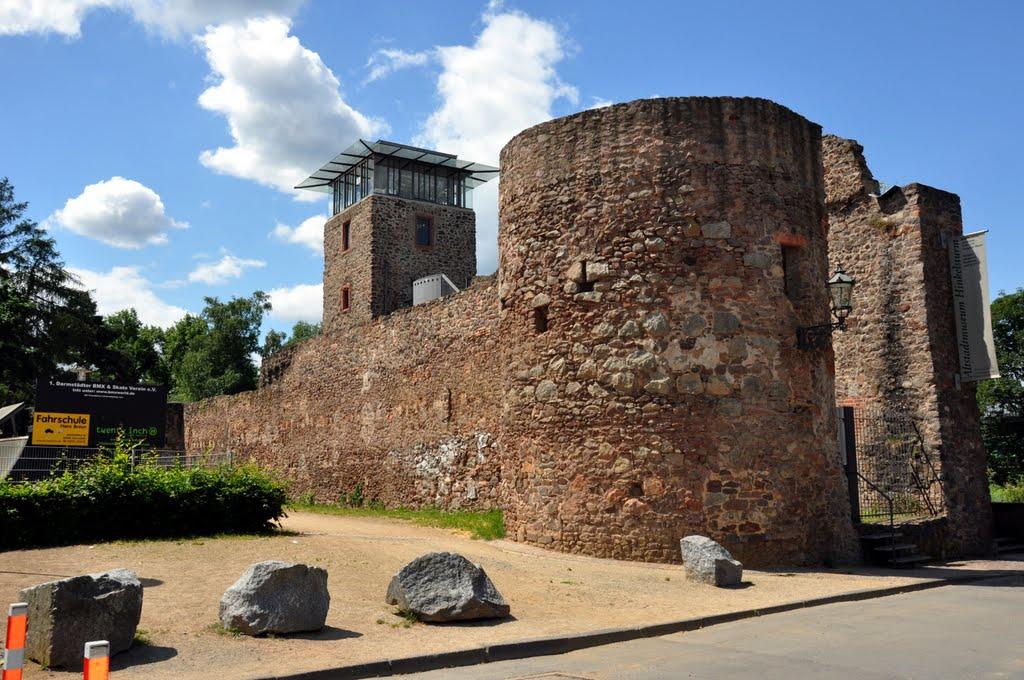 Alte Stadtbefestigung, Дармштадт