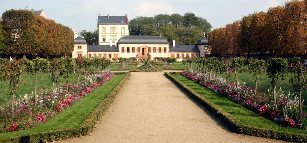 Prinz-Georg-Garten, Дармштадт