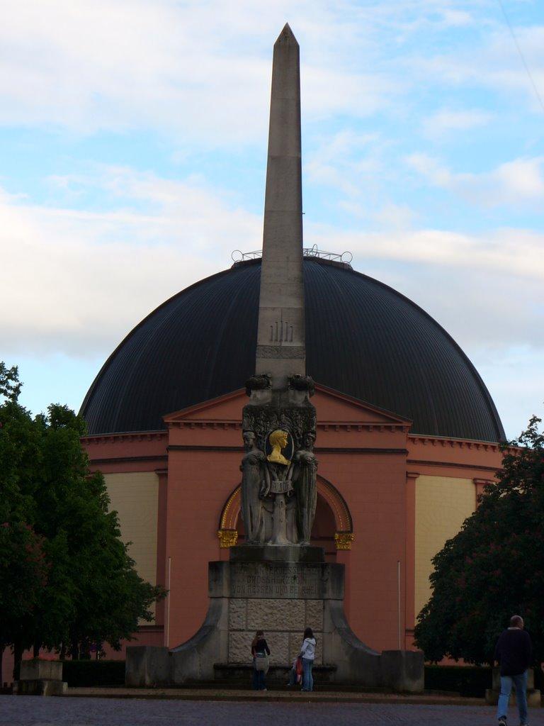 Darmstadt, Ludwigskirche, Дармштадт