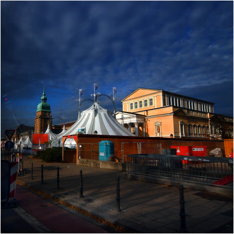 Circus in Darmstadt, Дармштадт