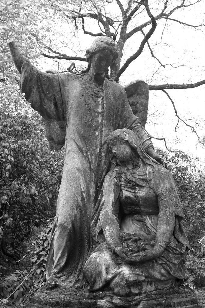In a Cemetery, Кассель
