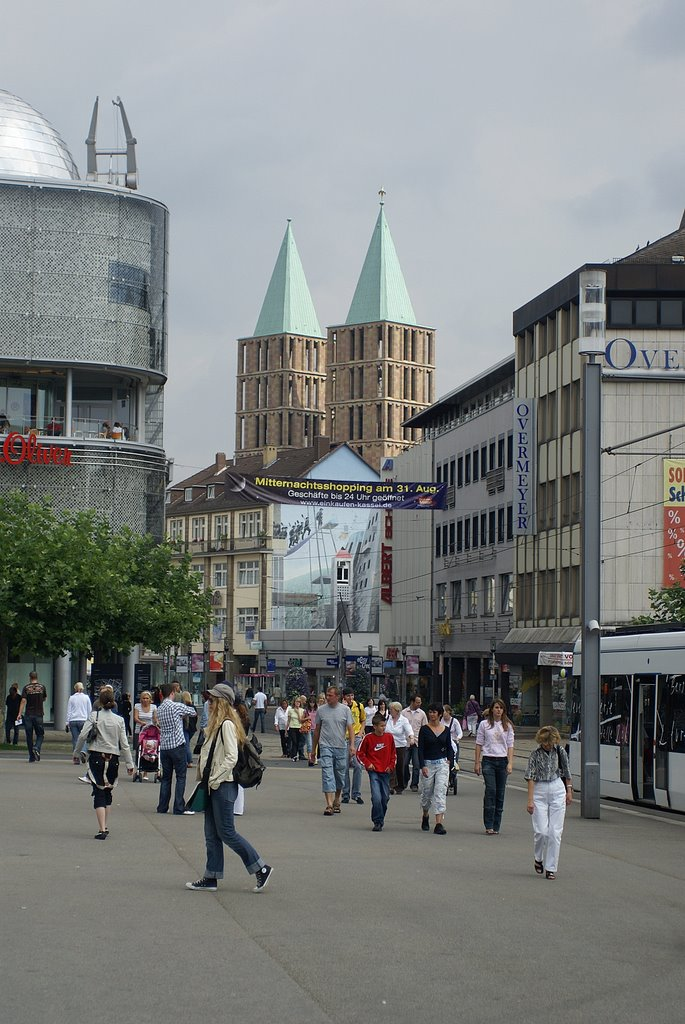 Kassel, Königsplatz, Кассель