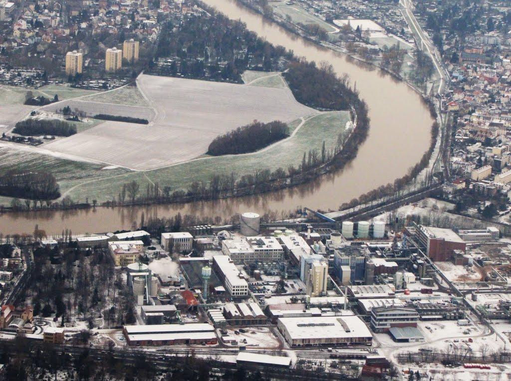 Offenbach & river Main, Germany., Оффенбах
