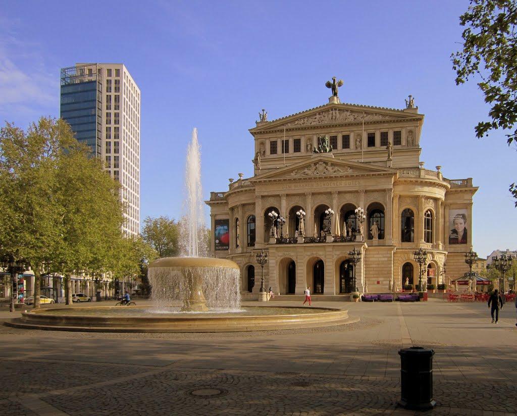 Alte Oper / Old opera - Fankfurt am Main, Франкфурт-на-Майне
