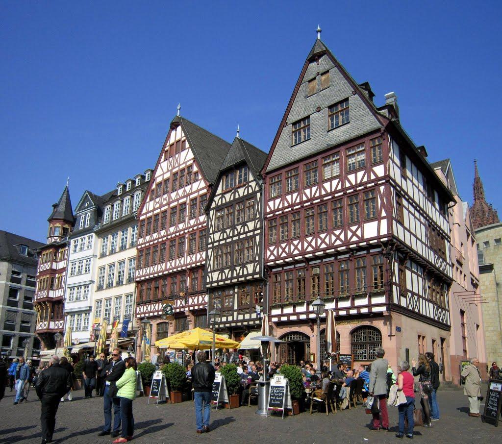 Frankfurter Römerberg, Франкфурт-на-Майне