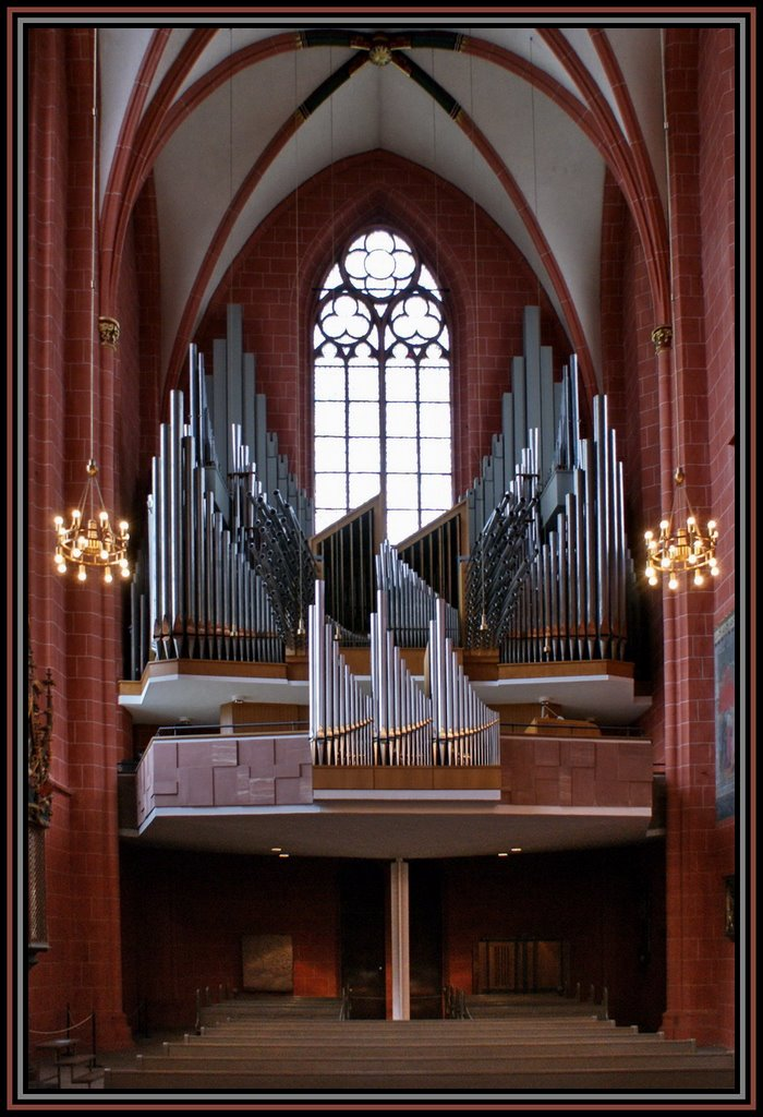 Der Kaiserdom St. Bartholomäus in Frankfurt am Main., Франкфурт-на-Майне