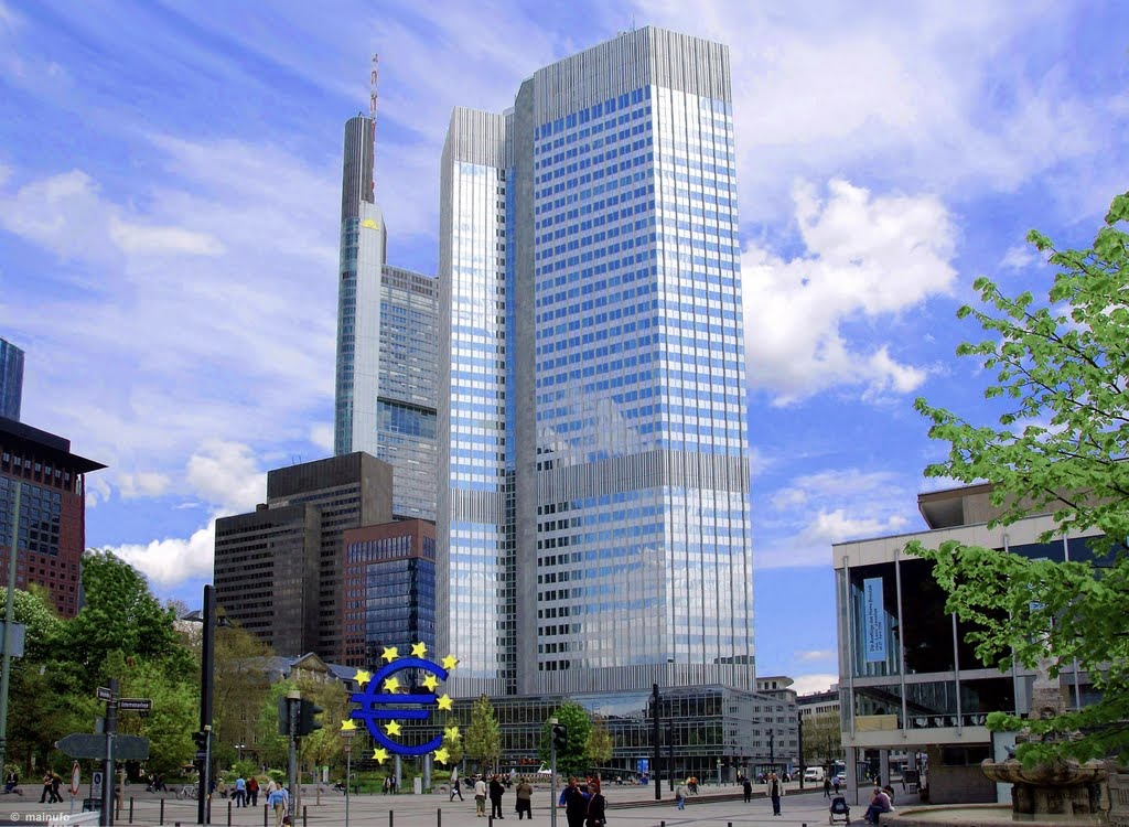 Gusty Wind above the € and the ECB 2008, Франкфурт-на-Майне