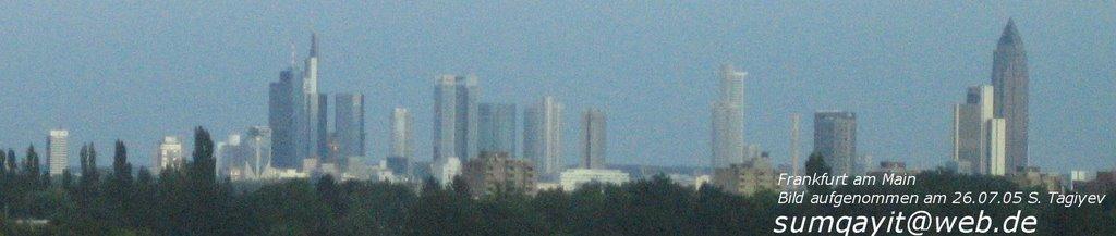26.07.2005 Frankfurt am Main, Франкфурт-на-Майне