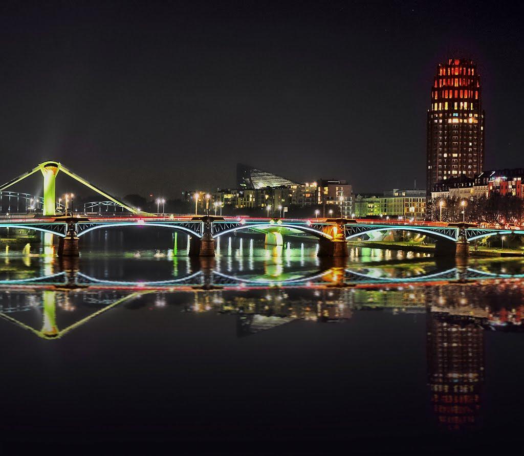 Nightly reflections...., Франкфурт-на-Майне