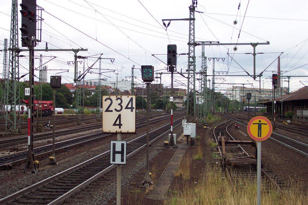 Zwischensignal S4 mit Abfahrauftrag, Фульда
