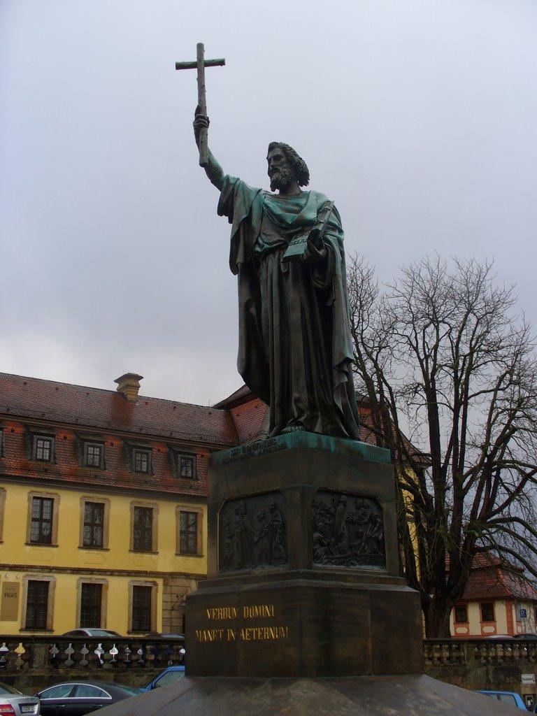 St.-Bonifatius-Denkmal, Фульда