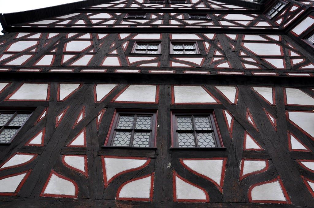 Fachwerkhaus in Fulda, Фульда