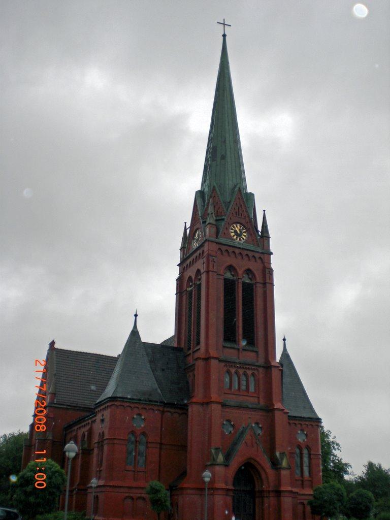 Kirche mit Mond, Вильгельмсхавен