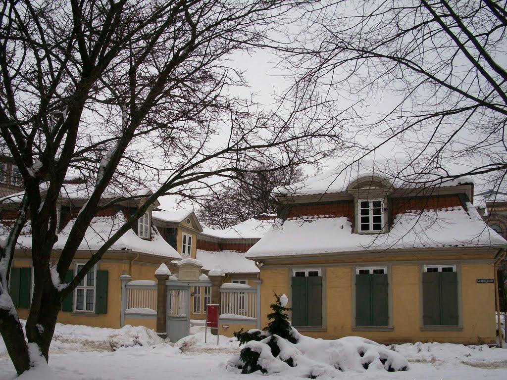 Lessing-Bibliothek - Eingang, Волфенбуттель