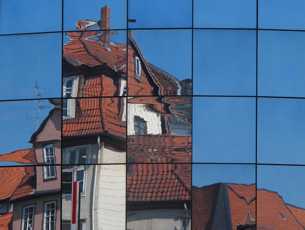 Stadtansicht Wolfenbüttel, Волфенбуттель
