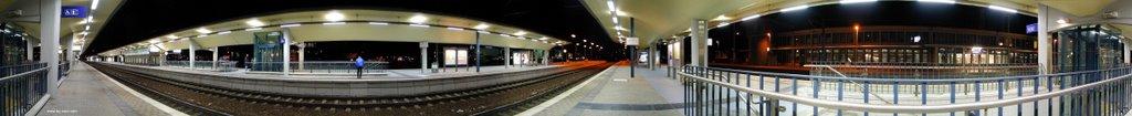 Wolfsburger Hauptbahnhof 360° Panorama, Вольфсбург