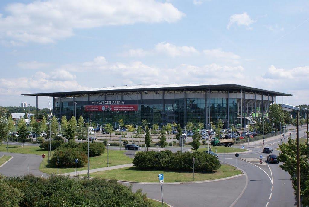 Estadio del Wolfsburg!, Вольфсбург