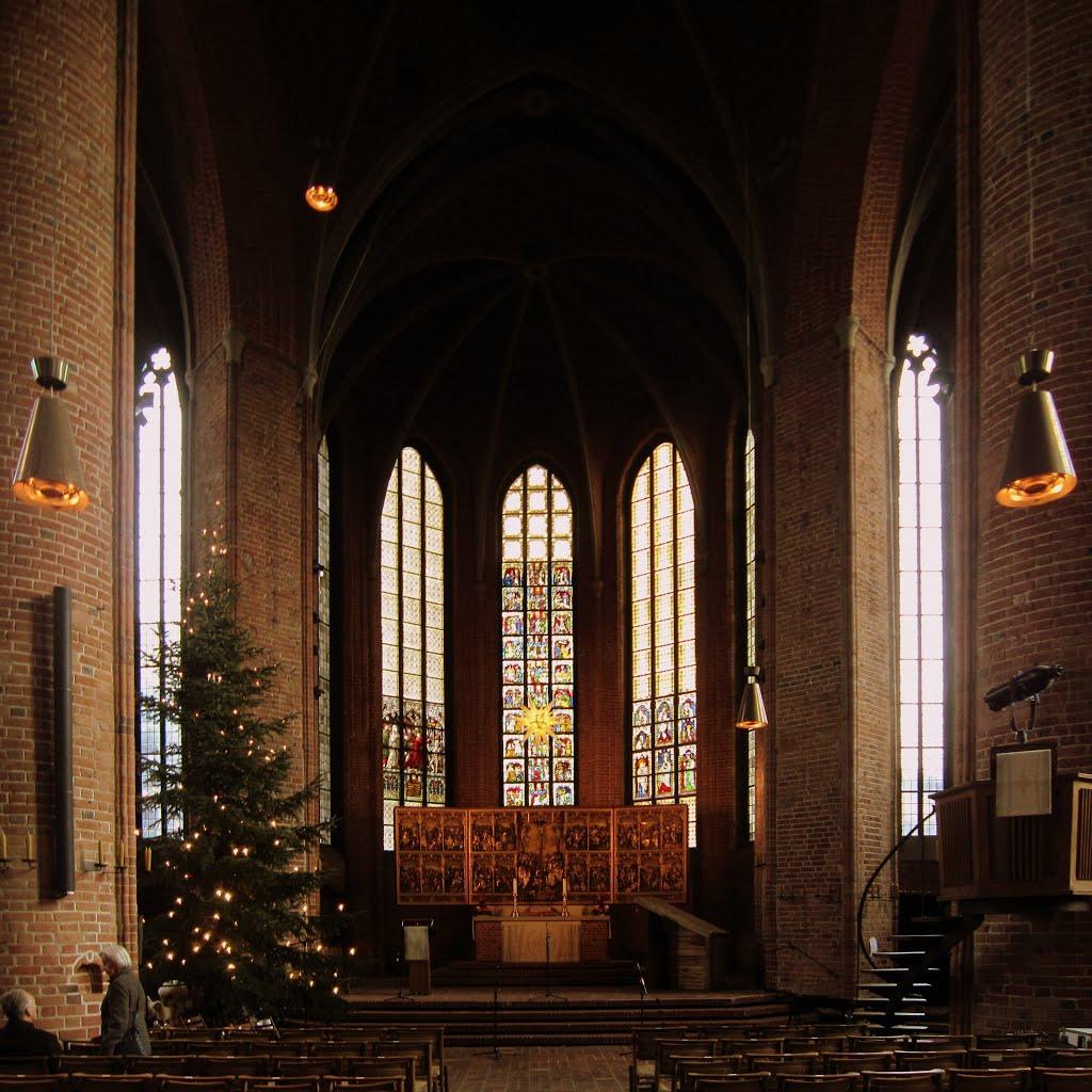 Passionsaltar in der Marktkirche - Hannover, Ганновер