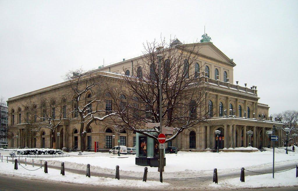 Opernhaus Hannover / Opera Hannover, Ганновер