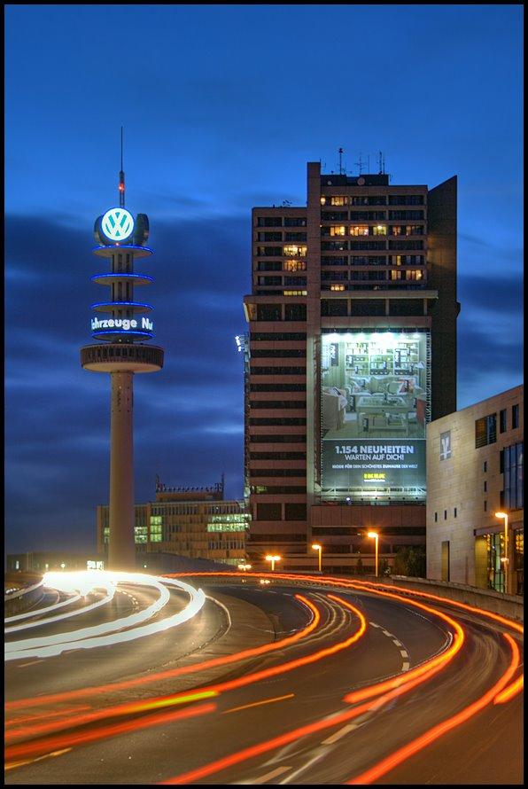 Bredero Hochhaus und VW-Turm, Ганновер