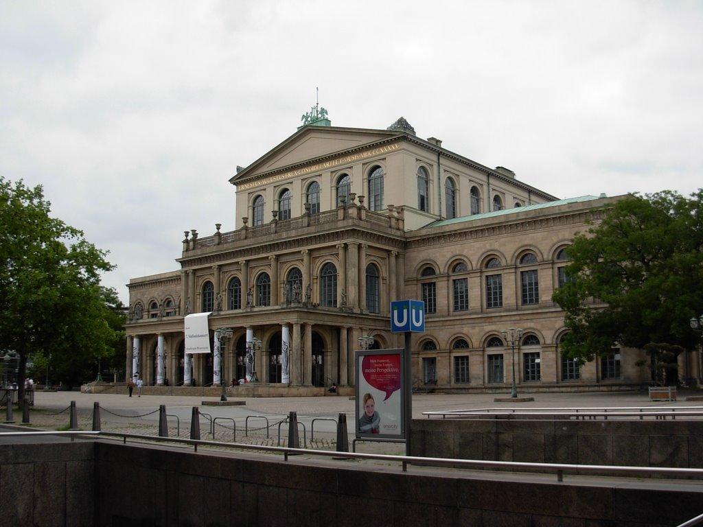 Hannover -Opernhaus, Ганновер