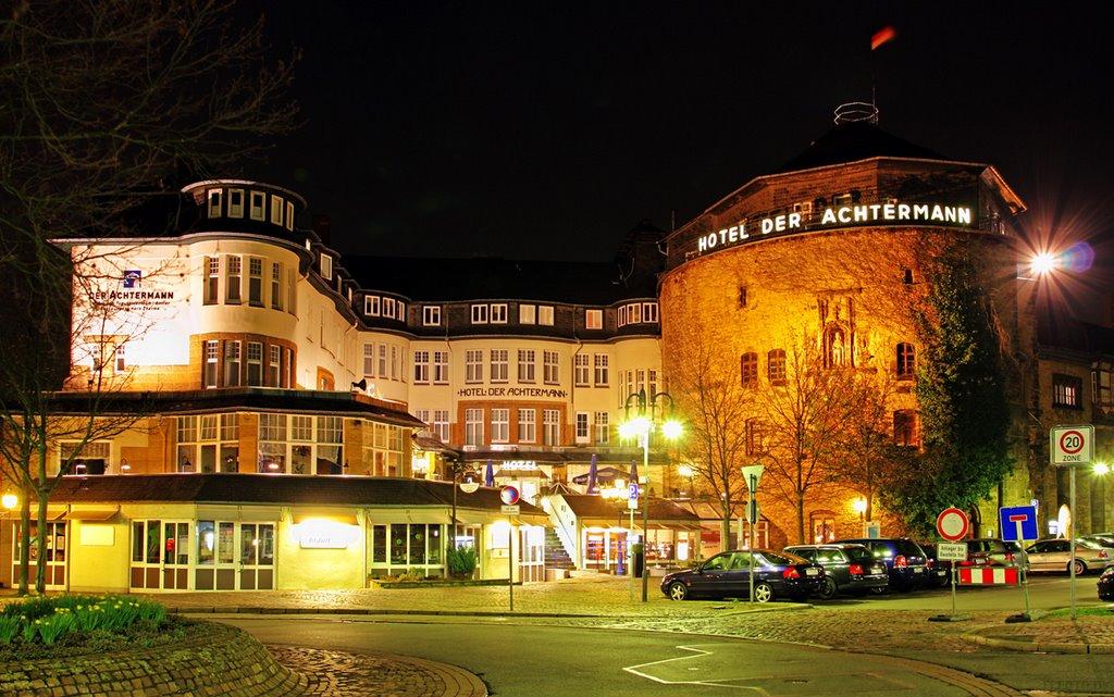 Hotel der Achtermann at Night, Гослар