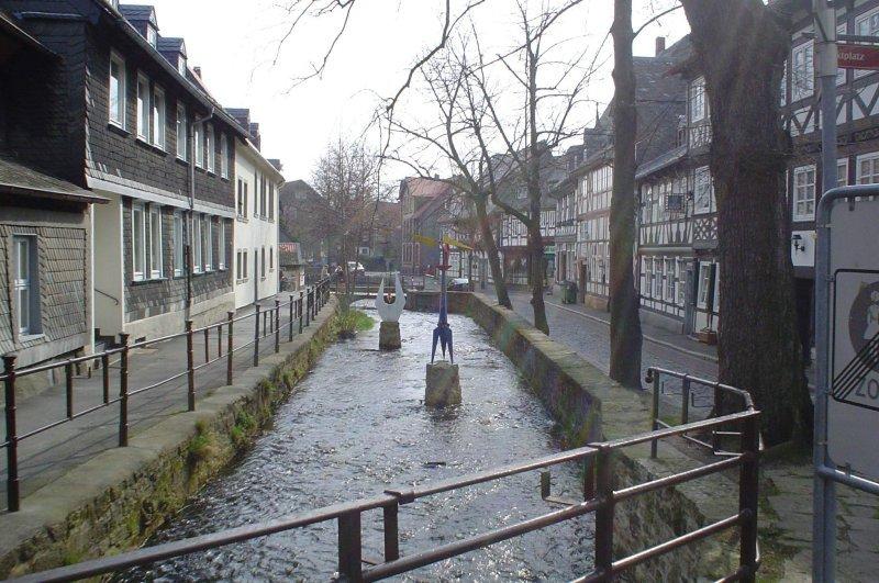 Idyllic canal, Goslar, Гослар