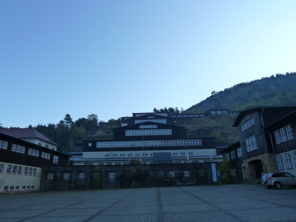 goslar...rammelsberg...bergbau-museum...in der früh, Гослар