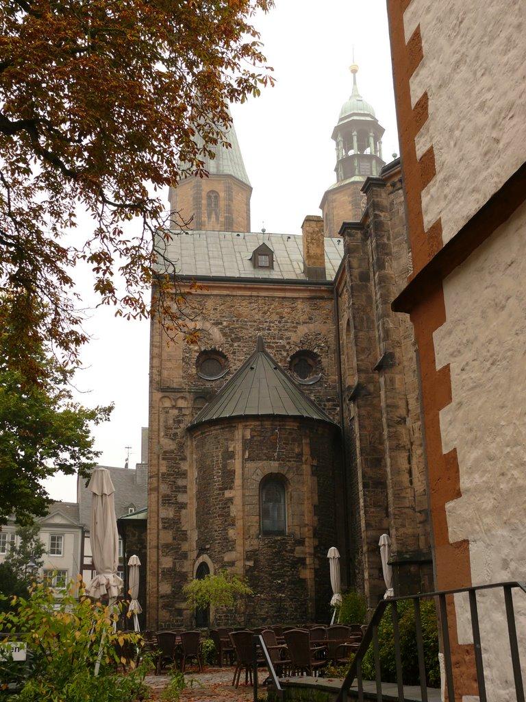 Goslar - Marktkirche um 1150 gebaut, Гослар