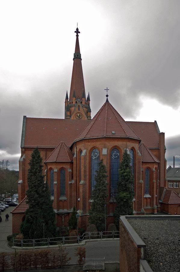 DELMENHORST: Kirche/Church ST. MARIEN • 2009, Дельменхорст