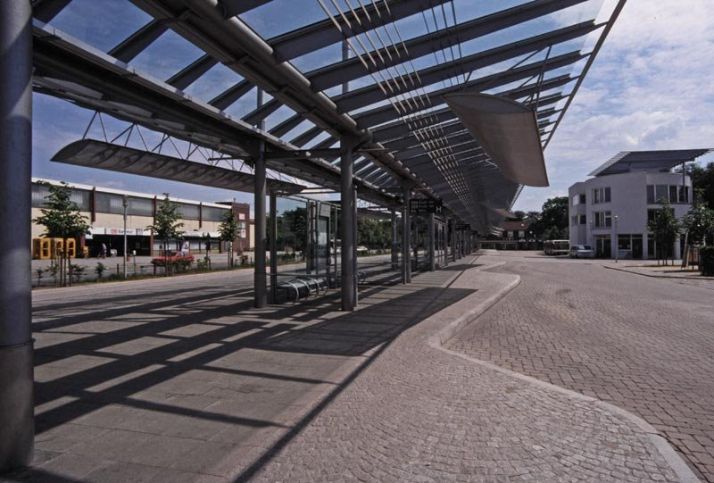DELMENHORST: ZOB (Klapper-Pflaster-Zeit) / Central Bus Station (rattle-road-time) • ~2003, Дельменхорст