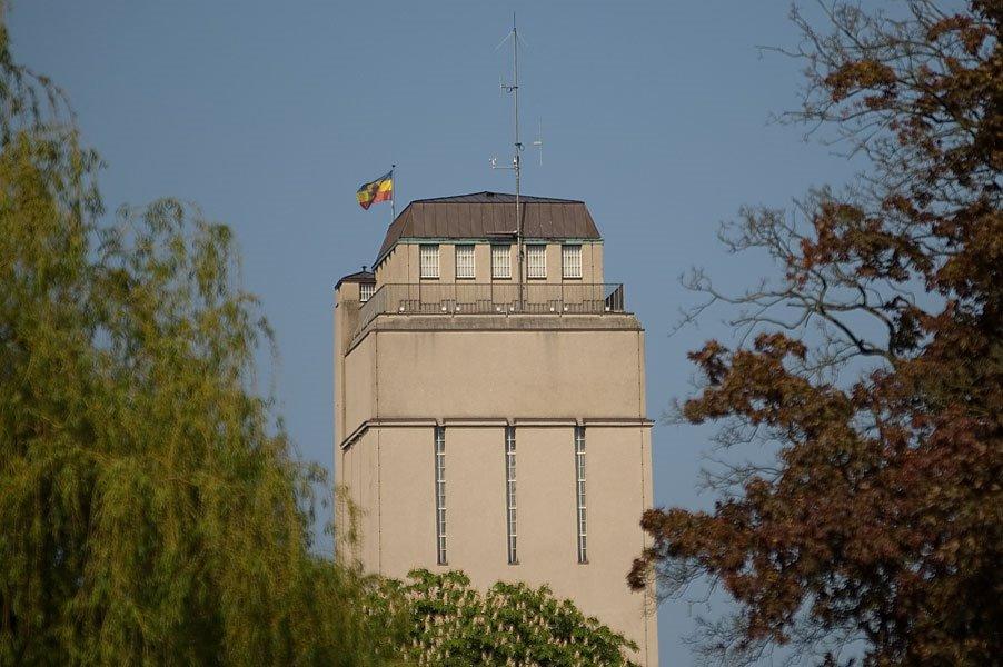 """DELMENHORST: Der Wasserturm, Ansicht aus der """"GRAFT"""" / The water-tower, view from the """"GRAFT"""" • 2009, Дельменхорст"""