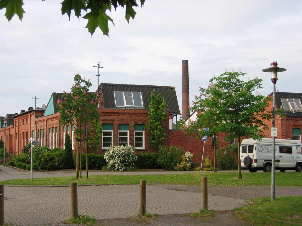 Industrie-Architektur Nordwolle, Дельменхорст