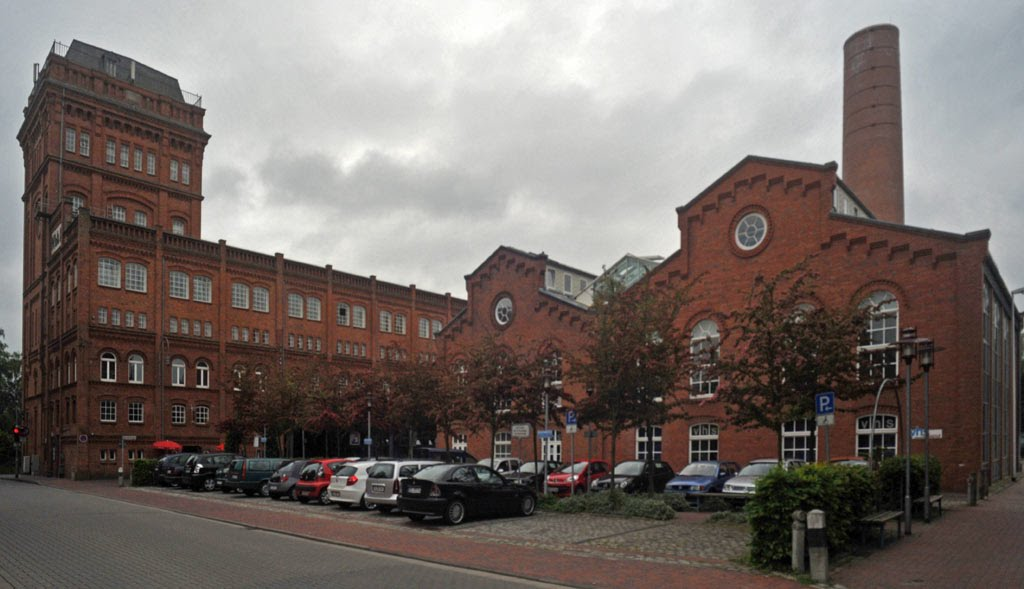 "DELMENHORST: ""Nordwolle""-Gebäude / ""Nordwolle"" (North wool) buildings • 06-2010, Дельменхорст"