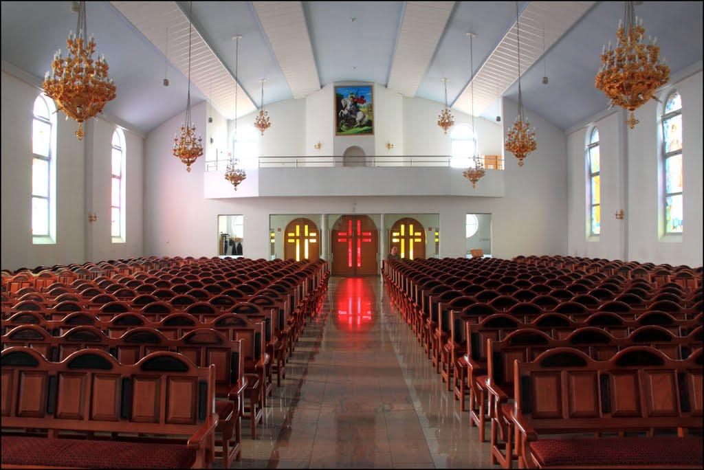 Delmenhorst: Innenansicht der Syrisch Orthodoxe Kirche, Дельменхорст